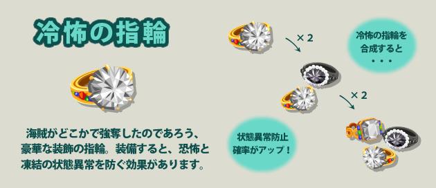 冷怖の指輪