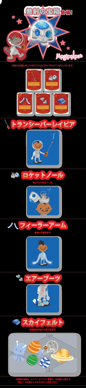 発射の宝箱登場!